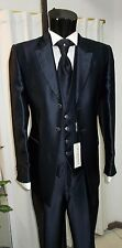 ABITO  SPOSO T. 52 FIRMATO CARLO PIGNATELLI SUIT GROOM WEDDING DESIGNER