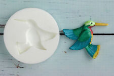 Silicona, Molde, zumbidos de aves de calidad alimentaria, ellam azúcar Craft m053