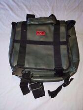 Vintage Hugo Boss laptop bag / backpack Green Khaki Color
