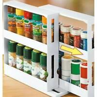 Multifunction Rotating Jars Spice Rack Kitchen Storage Holder Rack Organize HOT