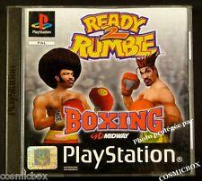 PlayStation 1 READY 2 RUMBLE BOXING jeu de boxe pr console SONY psx ps1 ps2 pal