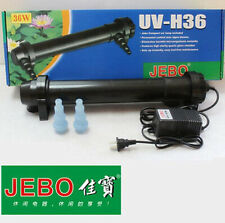JEBO 36W UV Sterilizer Lamp Light For Aquarium Ultraviolet Filter Clarifier