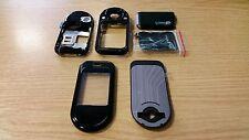 Nuevo para Nokia 7373 n7373 FASCIA CARCASA CUBIERTA DE Negro