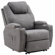 MCombo Elektrisch Relaxsessel Massagesessel Fernsehsessel Heizung Stoff 7061DE