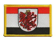 Polen Woiwodschaft Kujawien-Pommern Aufnäher Flaggen Fahnen Patch Aufbügler 8x6c