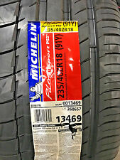 2 New 235 40 18 Michelin Pilot Sport PS2 Tires