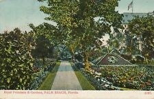 PALM BEACH FL – Royal Poinciana and Gardens – udb – 1906