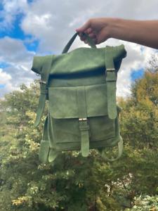 HASAGEI Vintage Backpack - Green