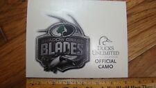 Mossy Oak Shadow Grass Ducks Unlimited Offical Camo Decal Sticker