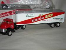 1960 CHEVY CAB #2 IN THE SERIES COLUMBIA BEER W/ ORIGINAL BOX IN 1/64 SCA.