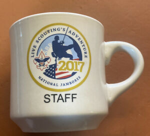 2017 NATIONAL BOY SCOUT JAMBOREE COFFEE CUP DAIRY MUG JAMBO OFFICIAL Staff