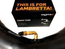 Bgm Pro Chambre à Air Lambretta 3.50 X 10 Gp Dl Tv Li 125 150 175 200 Soupape