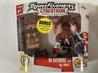 2005 Transformers Cybertron OVERRIDE & Mirage Deluxe Class Walmart Hasbro Sealed