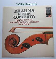 CC 7523 - BRAHMS - Violin Concerto SZERYNG / DORATI London SO - Ex Con LP Record