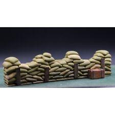 KING & COUNTRY-Une rangée de sacs de sable pour défense - diorama