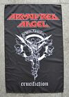 Armoured Angel CrucifictonTextile flag Death Thrash Metal Testament Exodus