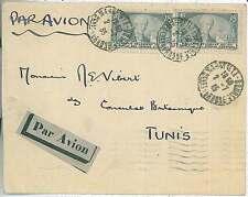 FRANCE - LETTRE - AIR MAIL PAR AVION a TUNIS 1935
