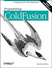 Programming Coldfusion by Rob Brooks-Bilson (Paperback, 2001)