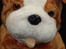 Lifelike Dear Mrs. Larue Kohls Cares Bulldog Puppy Dog Plush Stuffed Animal