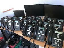 Avaya 1608-I IP phone. Black, used, clean, working. Priced each.