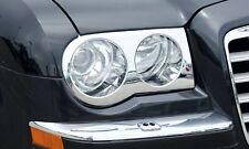 Chrysler 300c chrome 'Bentley' Style Headlight Covers (2005 - 2010)