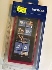 Nokia Lumia 800 Fitted Soft Cover - Rose CC-1031 Brand New in Original Packaging