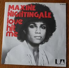Maxine Nightingale, love hit me / if i ever lose this heaven , SP - 45 tours