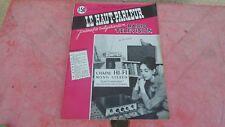 le Haut parleur journal de vulgarisation radio télévision n°1060  janvier  1963