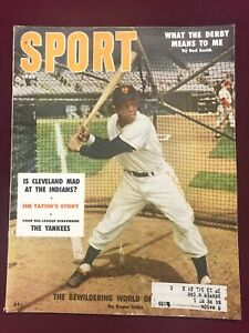 1956 Sport Magazine Willie Mays on the cover Giants ExNRMT