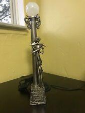 NIGHTMARE BEFORE CHRISTMAS JACK PEWTER DESK LAMP 2003