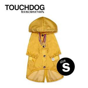 Touchdog® Split-Vent Designer Waterproof Dog Sun Protective Clothing Yellow – S