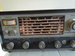 VINTAGE Hallicrafters Communications Receiver Model SX-140 - Estate Item