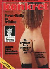 konkret Nr. 7 März 1969: Pornowelle im Frühling, Ein Groschenheft-Schreiber pack