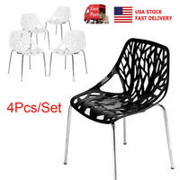 Set of 4 Dining Chair Modern Style Bird Nest Chairs Office Lounge Cafe Chair New