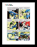 Fantastic Four #27 Page 20 Color Production Art by Jack Kirby - Sub-Mariner