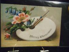 Victorian scrap # 7002 - CHRISTMAS - ARTIST PALETTE