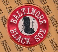 BALTIMORE BLACK SOX NEGRO LEAGUES Professional Baseball 3.5 inch patch