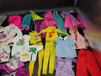 Vintage Barbie and Ken Clothing Lot - 44 pieces