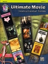 ULTIMATE MOVIE Instrumental Solos Horn in F + CD
