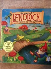 STRATEGY BOARD GAME THE LEGEND OF LANDLOCK - Mythical Map