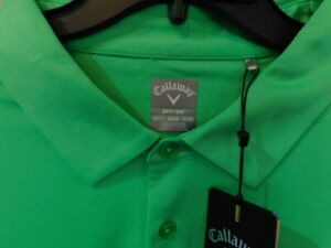 NEW Callaway Men's Printed Short Sleeve Golf Polo Shirt 3XLT