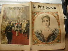 PETIT JOURNAL- 1894 - N°209 princesse Alice de HESSE / église russe PARIS tsar 2