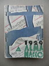 Almanacco Del Resto Del Carlino 1929 Bologna Giornalismo Notizie Cronaca Società