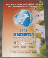 qual. Euro 2009 U-21 Armenia - Estonia and Ireland 14, 17.11.2009