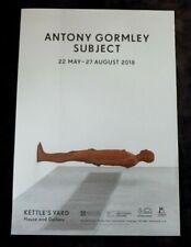 ANTONY GORMLEY Subject    2018 ART EXHIBITION POSTER