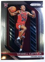 2018-19 Panini Prizm Wendell Carter Jr Rookie RC #80, Chicago Bulls