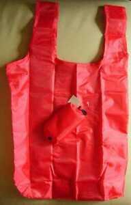 Nylon Einkaufstasche / Einkaufsbeutel / Shopper in 6 Farben mitTasche & Haken