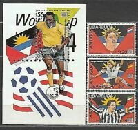 Antique Vintage Mail Yvert 1767 / 9+ Hb 297 MNH Sports Football