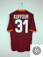 Roma Kuffour #31 07/08 Heim Fußball Shirt (XXL) Fussball Trikot Serie A Kappa