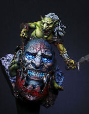 Galapagos Miniatures Siege Giant 90mm Goblin + Giant's Head Unpainted kit